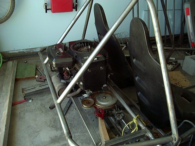 Lawnmower frankenbuggy Engine4