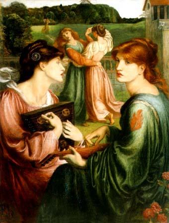 Dante Gabriel Rossetti Bower