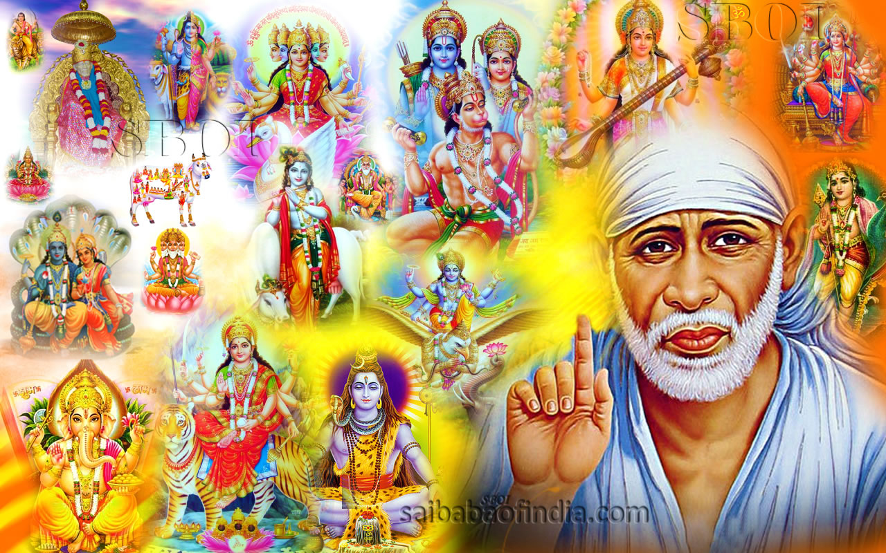 The United States of the Solar System, A.D. 2133 (Book Three) - Page 10 Indian-gods-hindu-gods-collage-shirdi-sai-baba-saibaba-wallpaper