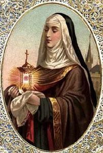 ✟Les Saints - Les Saintes du  Jour✟ Im-Ste-ClaireAssise3