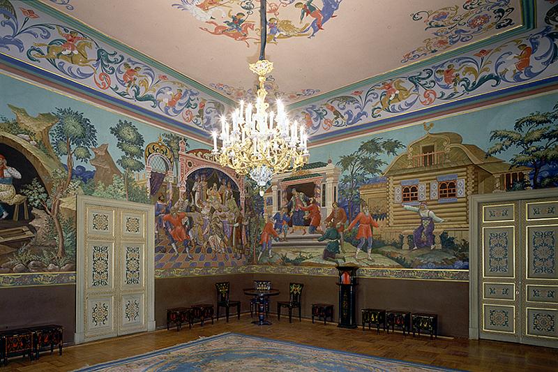 Rusija Interiors-of-anichkov-palace-in-saint-petersburg