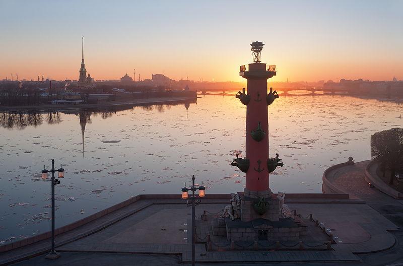 Rusija Neva-river