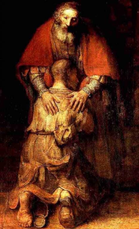 Citation 29/Pierre/Je te donnerai les clefs du Royaume des cieux.../ Rembrandt_le_fils_prodigue_r