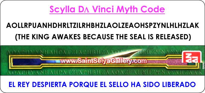 Da Vinci Myth Code 2007-2008 Codigoescila