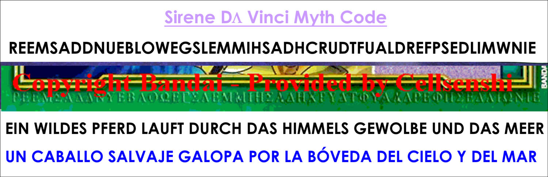 Da Vinci Myth Code 2007-2008 Codigosorrento