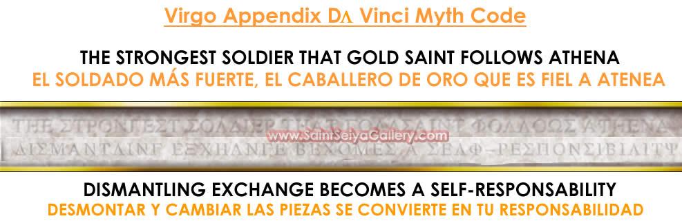 Da Vinci Myth Code 2007-2008 Codigovirgo