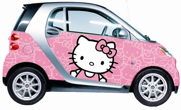 Registro de automóveis - Página 2 Smart-hello-kitty