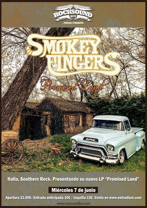 Jam Bands, Southern Rock y Roots music!!!!!! - Página 7 Smokeyfingers