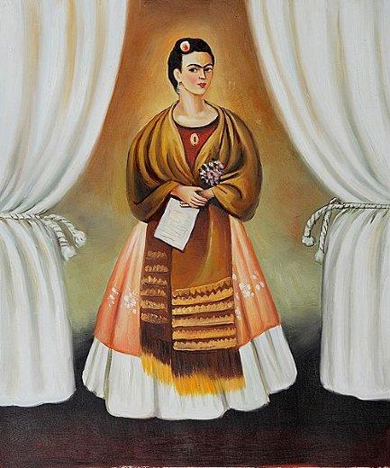 Frida Kalo Frida-kahlo-self-portrait-dedicated-to-leon-trotsky