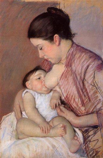 JUEGO POÉTICO Y DE IMAGINACIÓN-MAYO Mary-cassatt-motherhood
