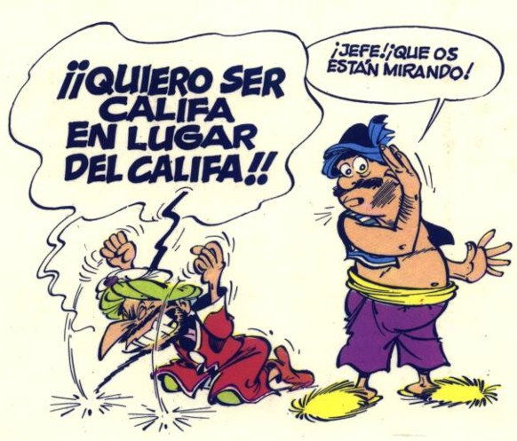 Viñetas de colores: Tebeos, manga, cuadrinhos, comic-books - Página 2 Iznogud1e