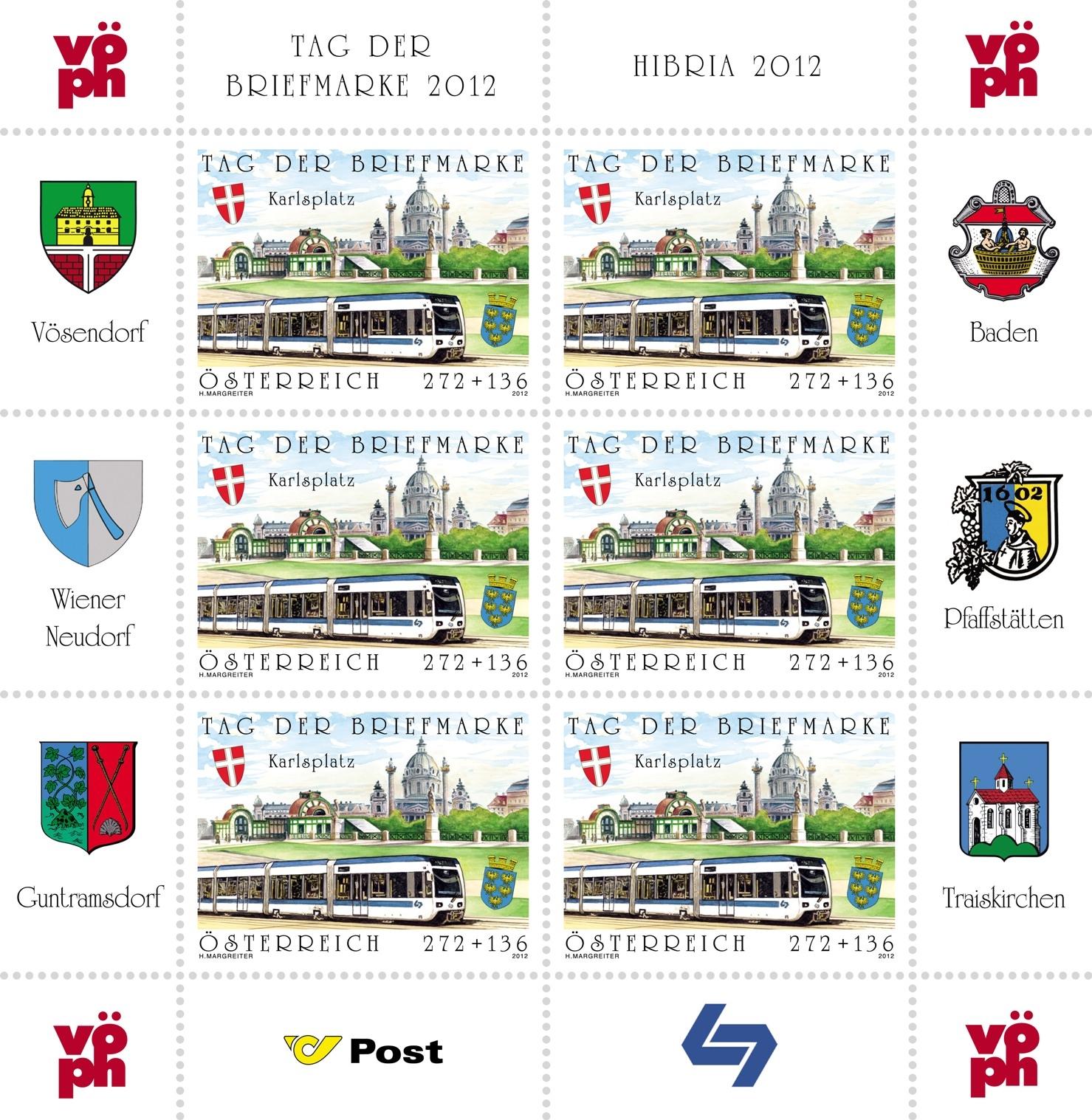 Briefmarken - Briefmarken mit Zierfeldern Allongen (bedruckte Zierfelder) An3025kb
