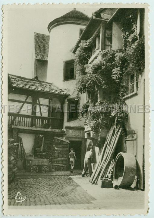 Villes et villages en cartes postales anciennes .. Cartes-postales-anciennes-68-Riquewihr-fak2511
