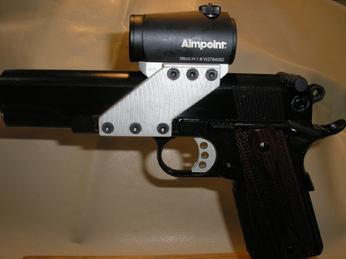 Mounting a red dot on a 1911 346_P2200236