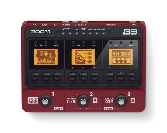 ZOOM B2 B3_top-display