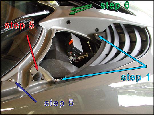 Dubbio Griglie pannelli d'ispezione radiatore Step1a