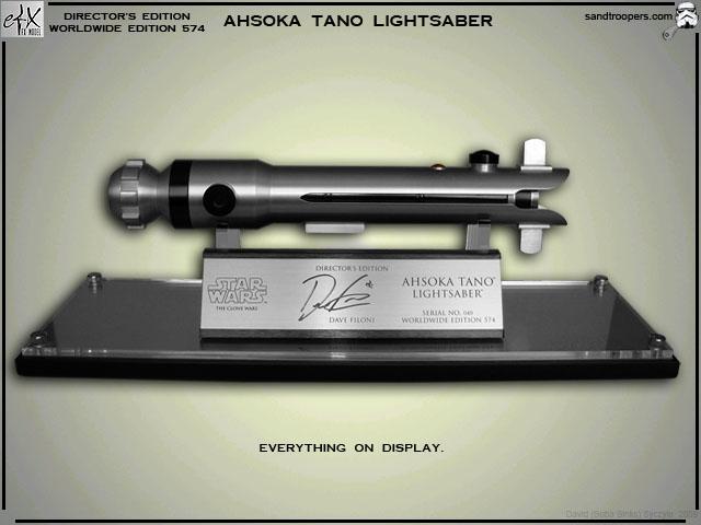 Efx - Ahsoka Lightsaber - Clone Wars AhsokaLghtsbr017