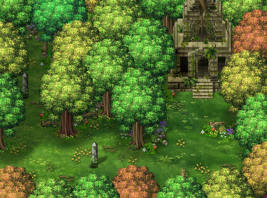 Les légendes de Sanéterre - La prison de l'âme Forest3