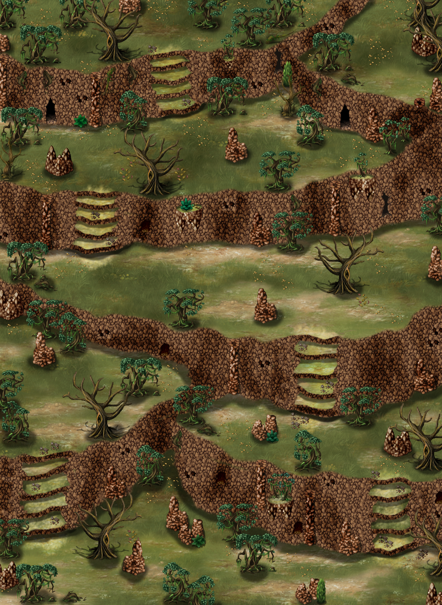 Screenshot de vos projets - Page 16 Donjon-falaise-aride