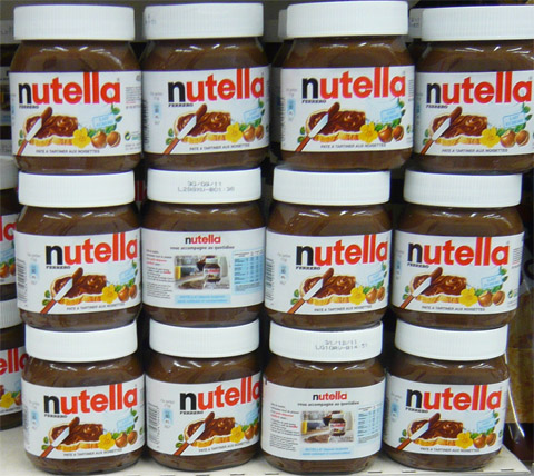 Le Nutella contient le phtalate le plus dangereux : DEHP Pots-de-Nutella