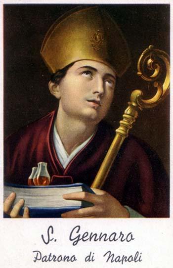 19 septembre Saint Janvier de Bénévent 29200AG