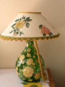 Lampada da una damigiana Lampada1-225x300