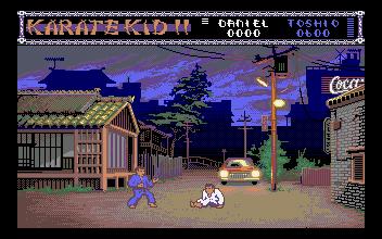 Les débuts de l'ATARI ST - 1986 KarateKid2-SCA