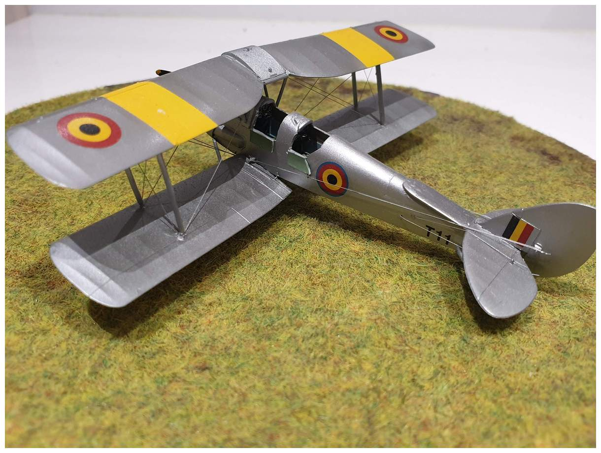 [Airfix] De Havilland Tiger Moth - Belgian air force  +/- 1952 20191213_160527r