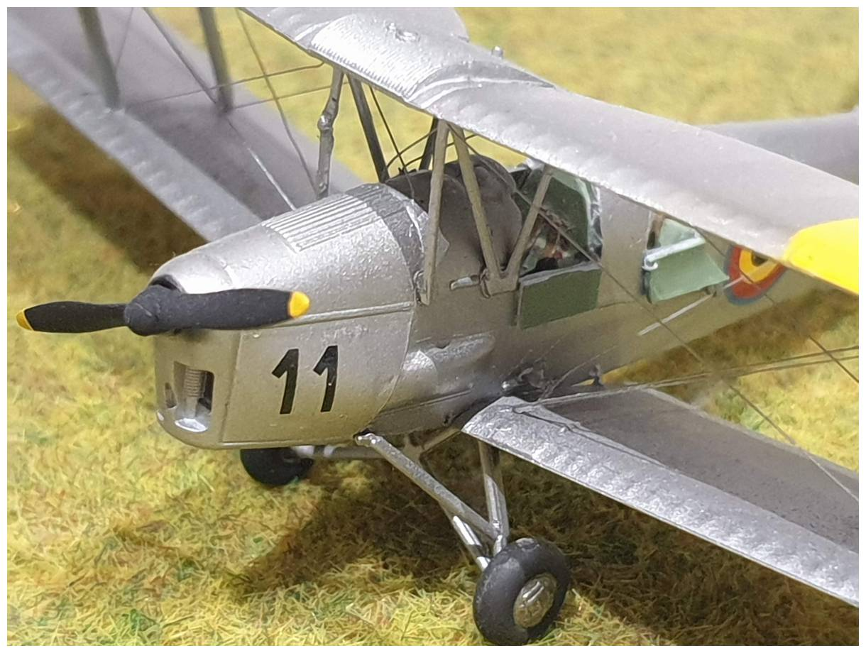 [Airfix] De Havilland Tiger Moth - Belgian air force  +/- 1952 20191213_160557r