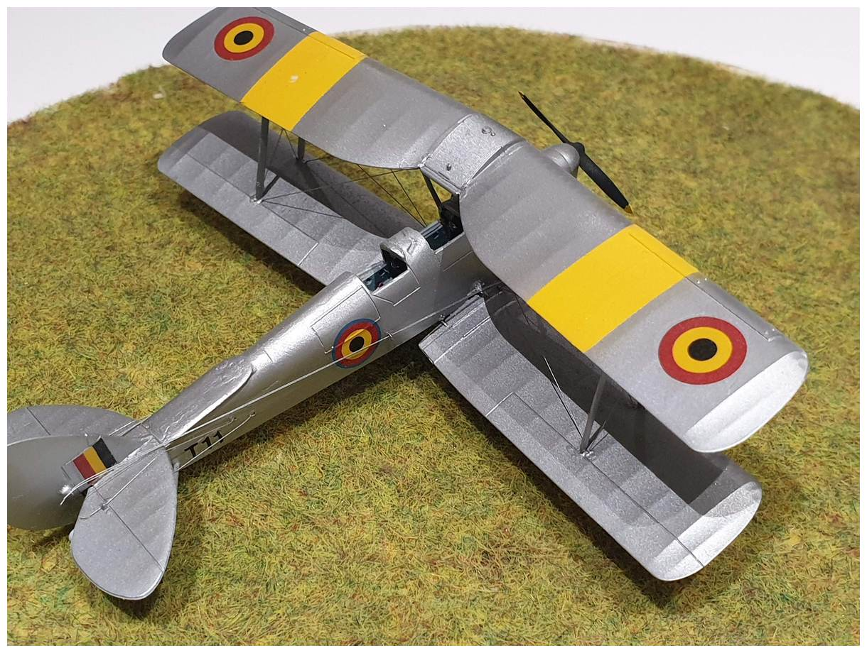 [Airfix] De Havilland Tiger Moth - Belgian air force  +/- 1952 20191213_160641r