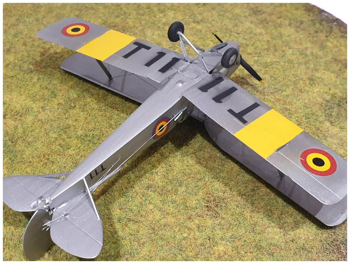 [Airfix] De Havilland Tiger Moth - Belgian air force  +/- 1952 20191213_160700r