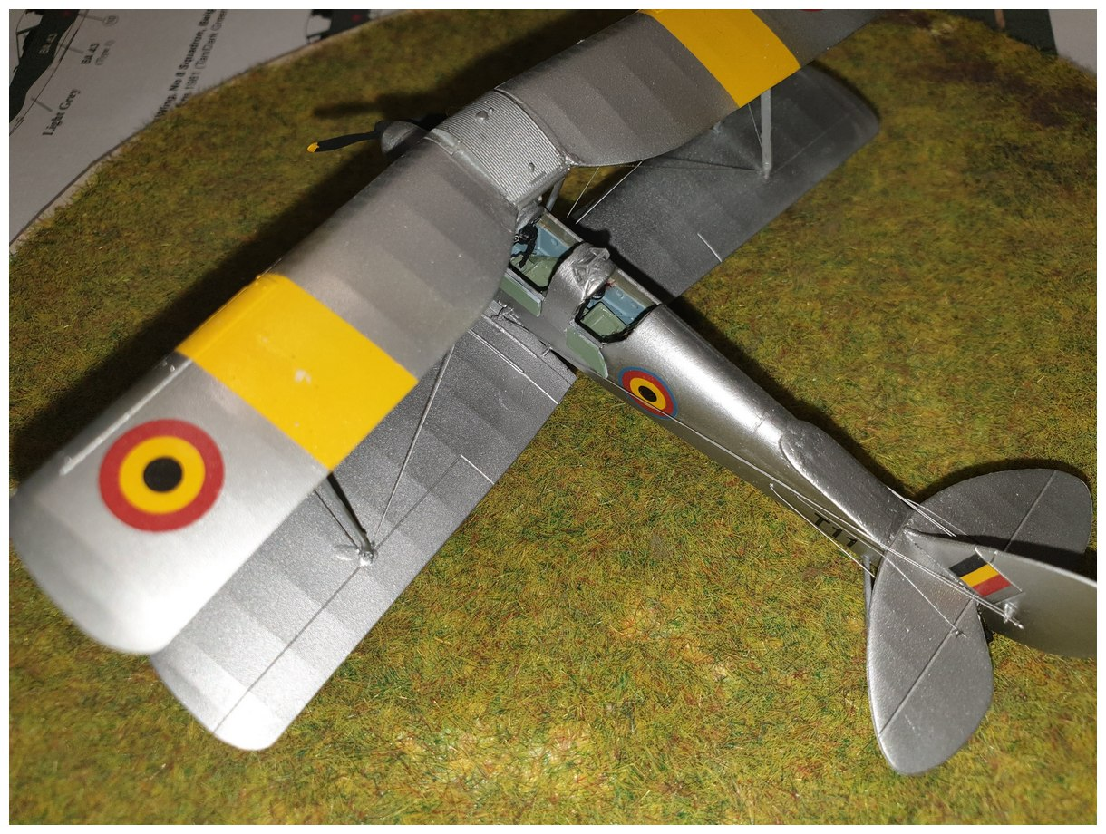 [Airfix] De Havilland Tiger Moth - Belgian air force  +/- 1952 20200106_174010r