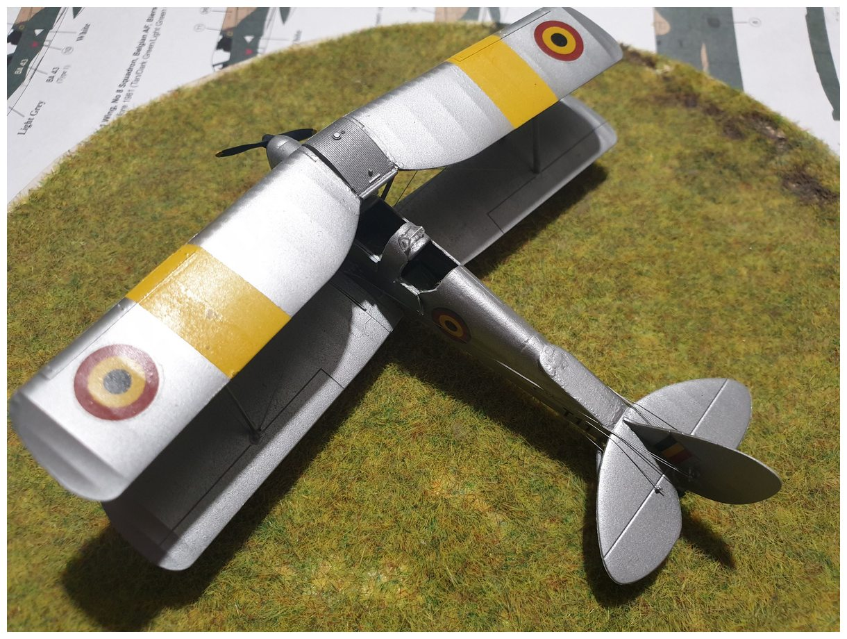 [Airfix] De Havilland Tiger Moth - Belgian air force  +/- 1952 20200106_174033r