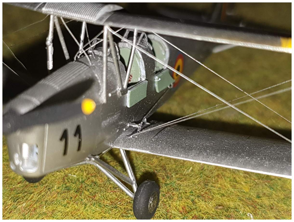 [Airfix] De Havilland Tiger Moth - Belgian air force  +/- 1952 20200106_174120r