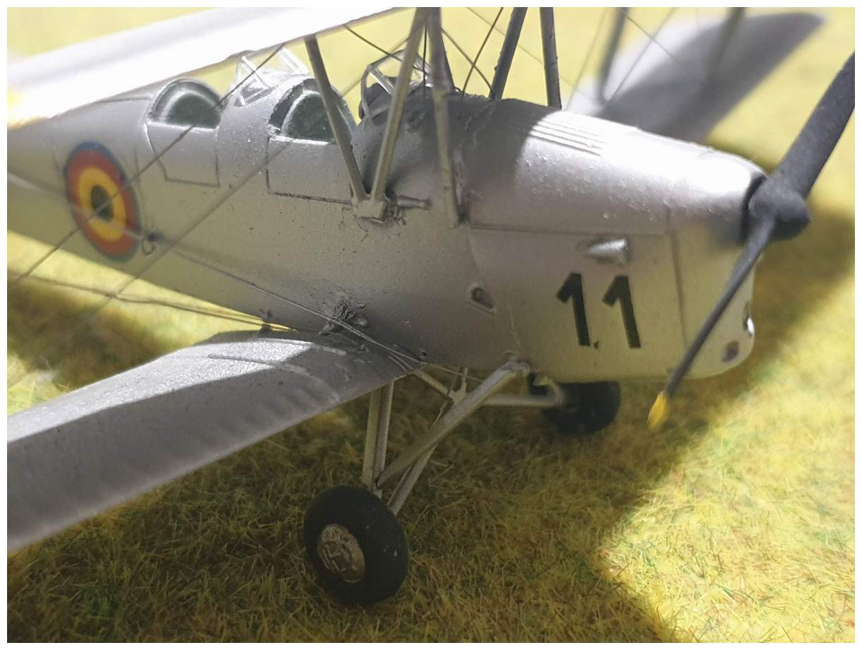[Airfix] De Havilland Tiger Moth - Belgian air force  +/- 1952 20200106_174138r
