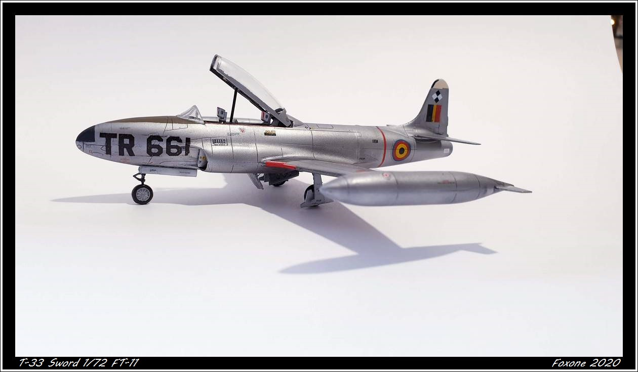 [Sword] Lockheed T-33 Belgian Air Force early '50 20200629_180238s