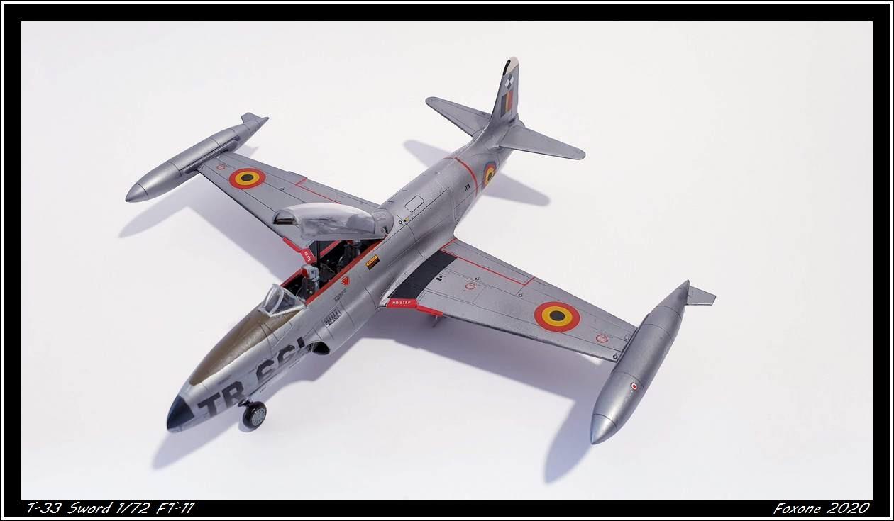 [Sword] Lockheed T-33 Belgian Air Force early '50 20200629_180252s