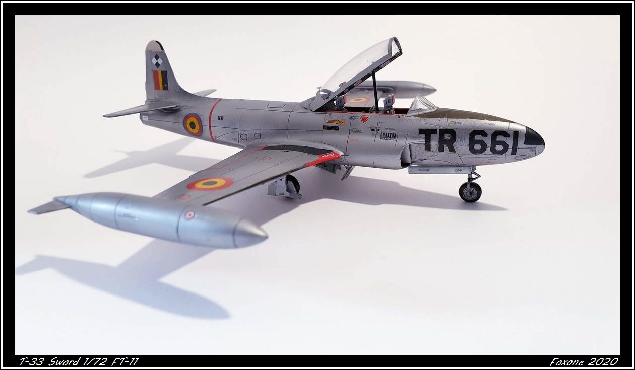 [Sword] Lockheed T-33 Belgian Air Force early '50 20200629_180301s