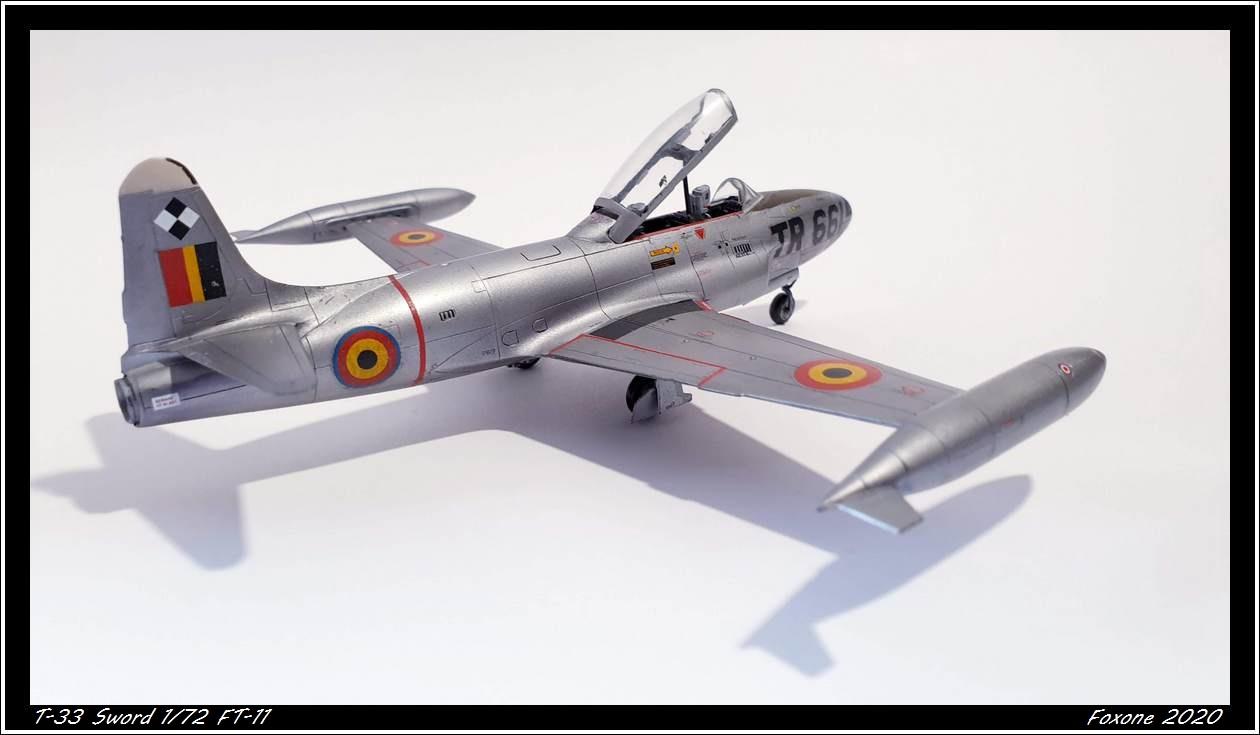 [Sword] Lockheed T-33 Belgian Air Force early '50 20200629_180310s