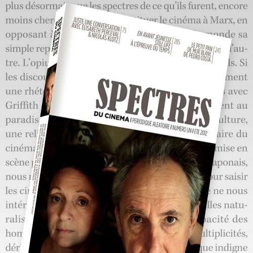 Spectres du cinéma, version papier SP1