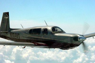 L'avion avec un grand A Mooney-Bravo-Flight