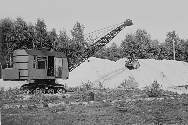 """BÜNGER"""" (Eduard Bünger KG, Düsseldorf) escavatrici WH-A2-055-750"""