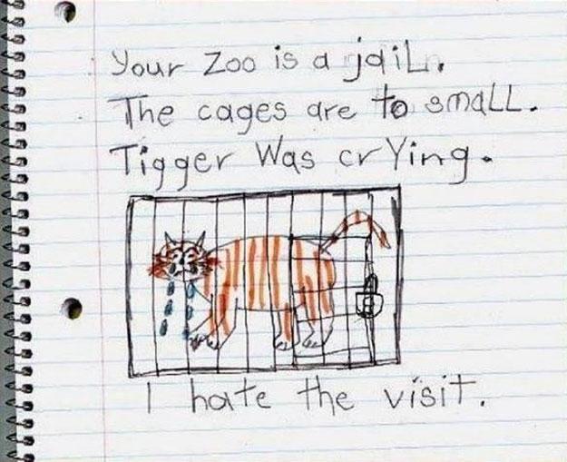 ANIMALES - Página 2 Dibujo-nino-zoo