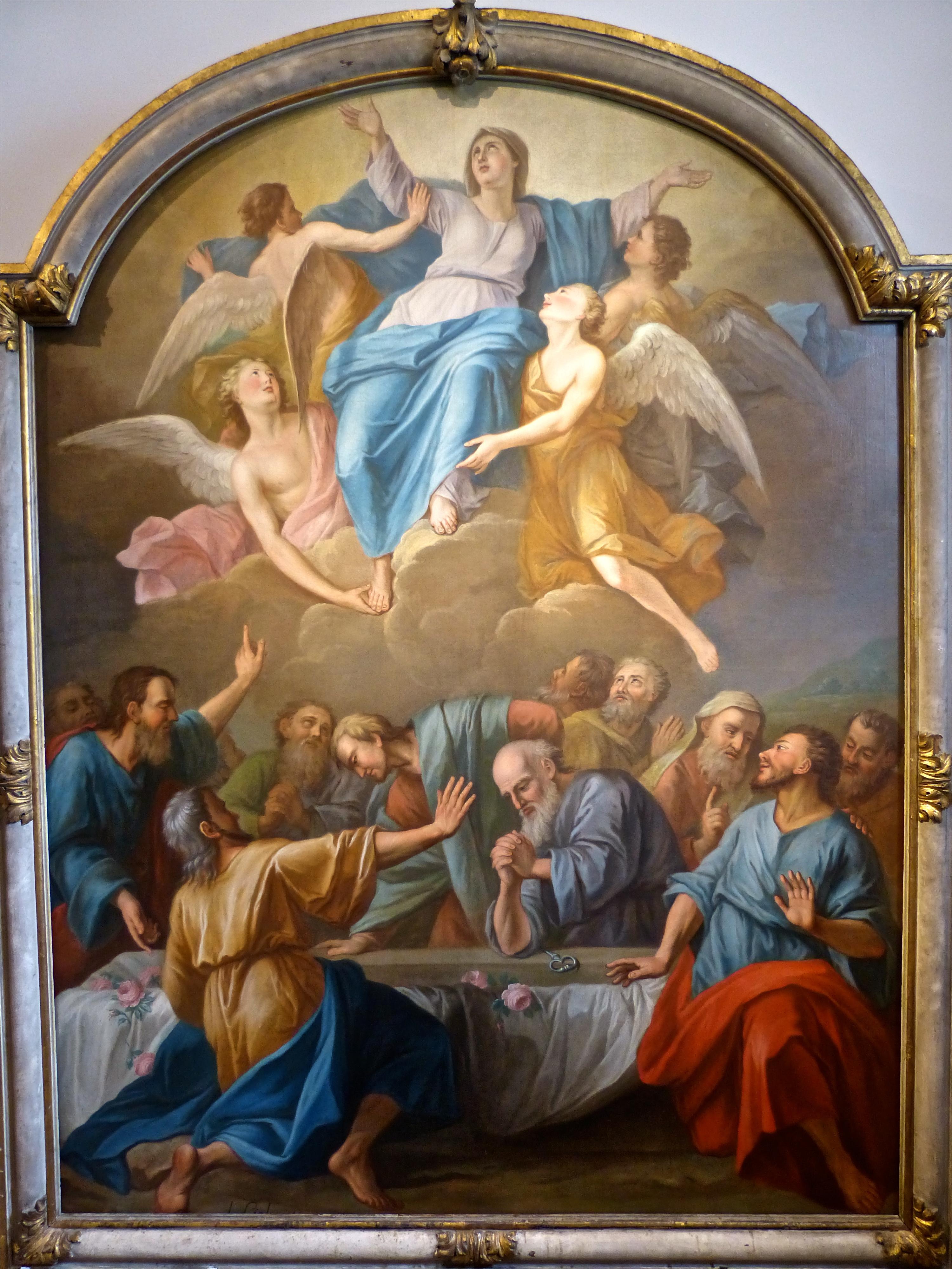 le 15 août, assomption de Marie, véritable date de la fête nationale ? Assomption-de-la-Vierge-Carmel-de-Saint-Denis