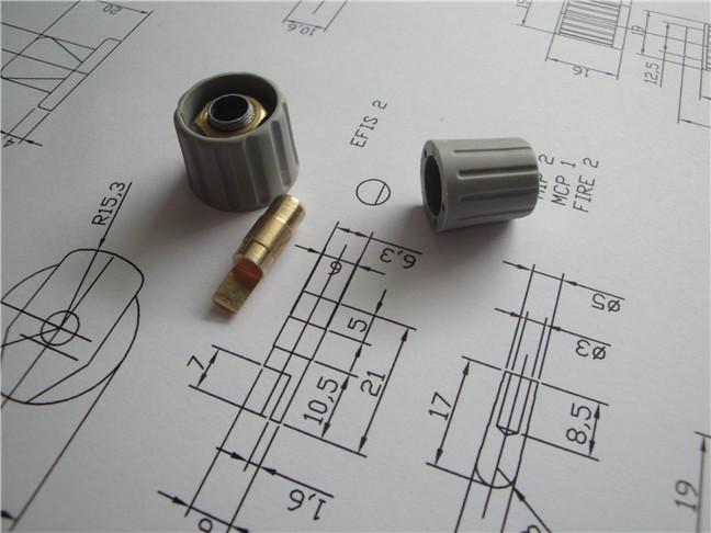 Onde conseguir o planos com as medidas e especificações dos knobs do 737? Efismod3