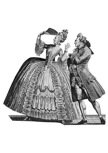 Odeca kroz vekove Kleidung-am-franzoesischen-hof-1778-t9749