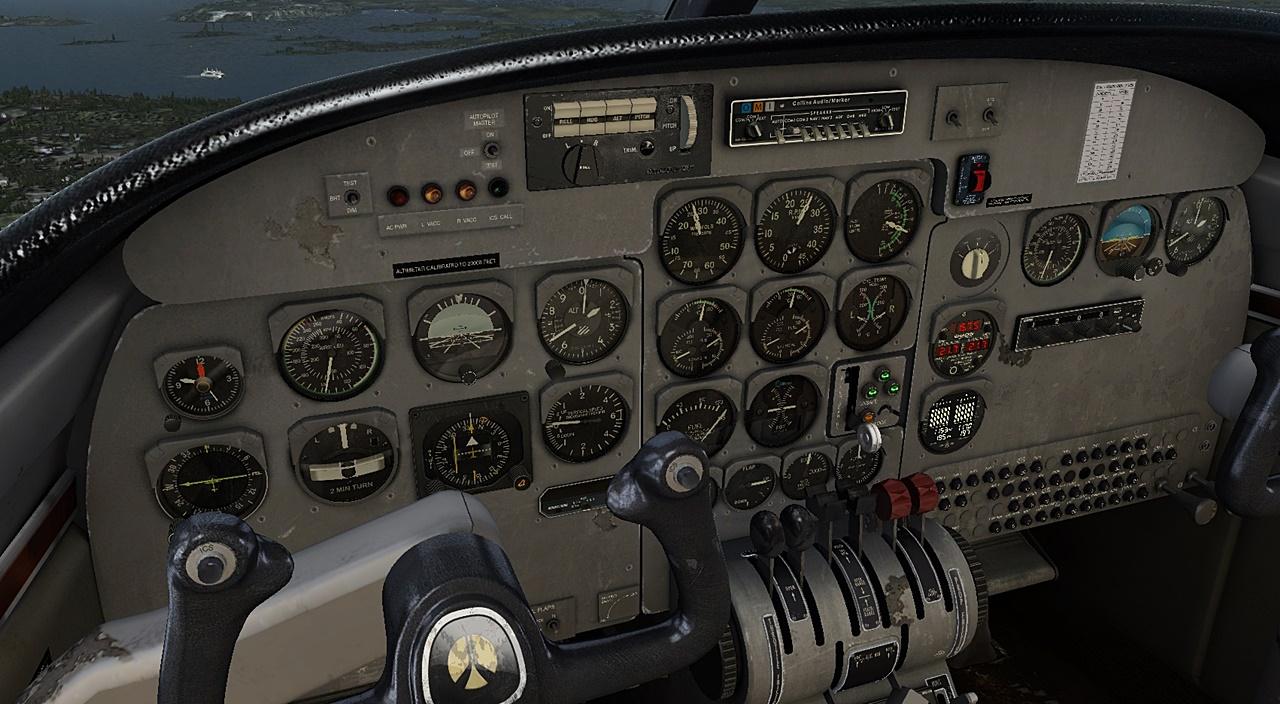Carenado - 500S SHRIKE AERO COMMANDER HD SERIES  Comm4