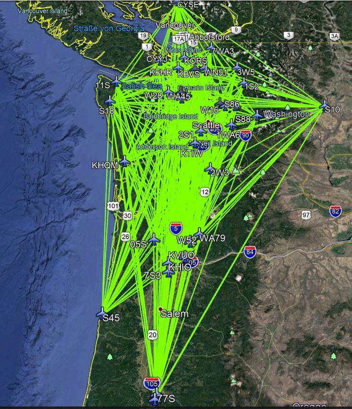 FSAirlines - Wartung der Flugpläne Netz