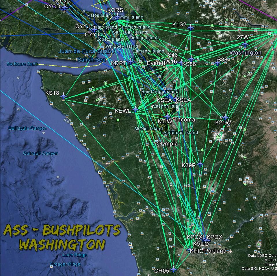 Washington / Oregon - ERÖFFNET Wash