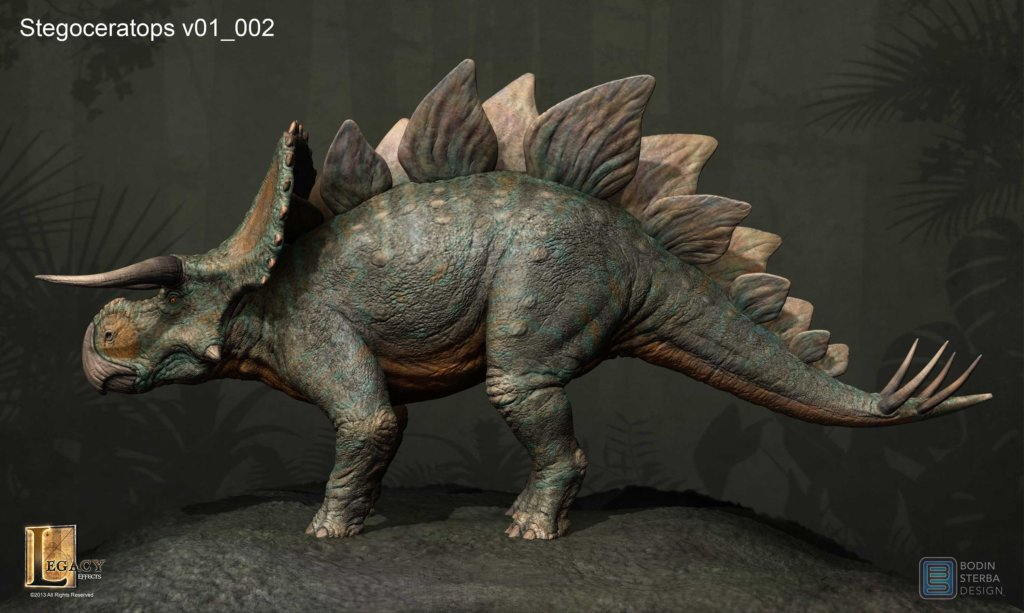 What the Stegoceratops would have looked like if it was in JW. V01_profile-Stegoceratops-1024x613